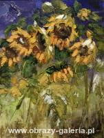 Jolanta Winer - Sunflowers