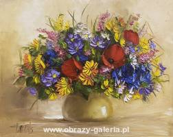 Ewa Bartosik - Bouquet of flowers